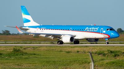 LV-GIK - Embraer 190-100IGW - Austral Líneas Aéreas