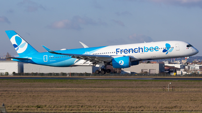 A picture of FHREN - Airbus A350941 - French Bee - © Baptiste Prevost