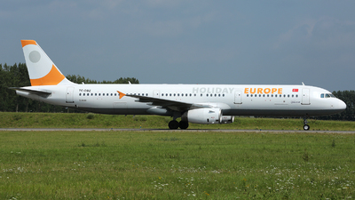 TC-OBZ - Airbus A321-231 - Holiday Europe (Onur Air)