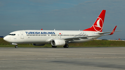 TC-JVG - Boeing 737-8F2 - Turkish Airlines