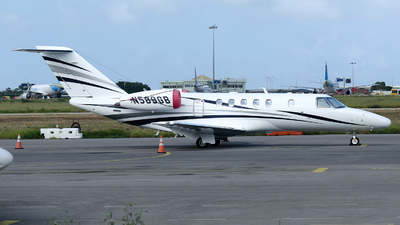 N589GB - Cessna 525 Citation CJ4 - Private