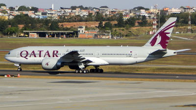 A7-BBF - Boeing 777-2DZLR - Qatar Airways