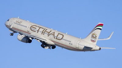 A6-AEC - Airbus A321-231 - Etihad Airways