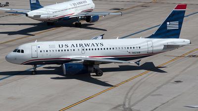 N821AW - Airbus A319-132 - US Airways