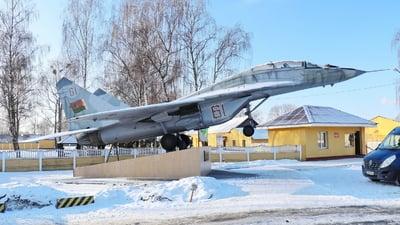 61 - Mikoyan-Gurevich MiG-29UB Fulcrum - Belarus - Air Force