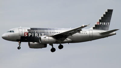 N532NK - Airbus A319-132 - Spirit Airlines