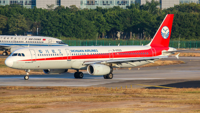 B-6920 - Airbus A321-231 - Sichuan Airlines