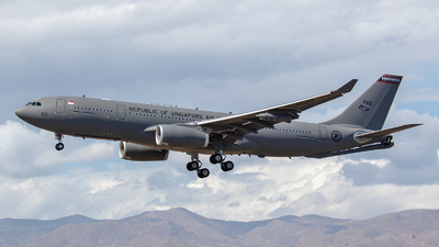 762 - Airbus A330-243(MRTT) - Singapore - Air Force