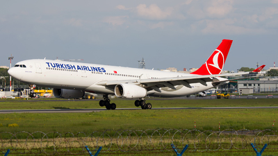 A picture of TCJNK - Airbus A330343 - Turkish Airlines - © Emil Zegnalek