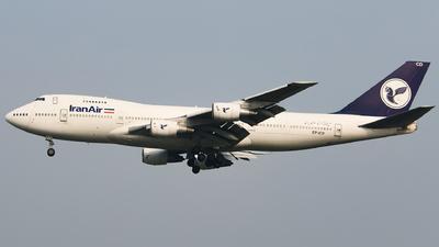 EP-ICD - Boeing 747-21AC(SCD) - Iran Air Cargo