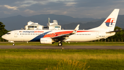 A picture of 9MMLM - Boeing 7378H6 - Malaysia Airlines - © Kody Chin