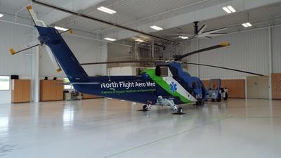 N764AM - Sikorsky S-76B - North Flight Aero Med