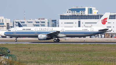 A picture of B6382 - Airbus A321213 - Air China - © Sweet Potato