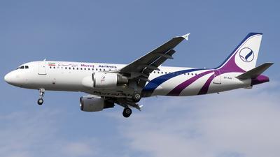 EP-AJJ - Airbus A320-212 - Meraj Air