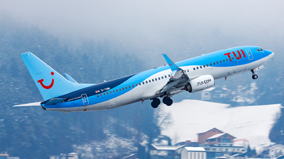 A picture of GTAWI - Boeing 7378K5 - TUI fly - © James Rowson
