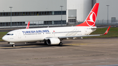 TC-JVR - Boeing 737-8F2 - Turkish Airlines
