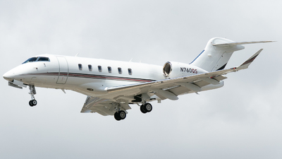 N760QS - Bombardier BD-100-1A10 Challenger 350 - NetJets Aviation