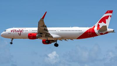 C-FJOU - Airbus A321-211 - Air Canada Rouge