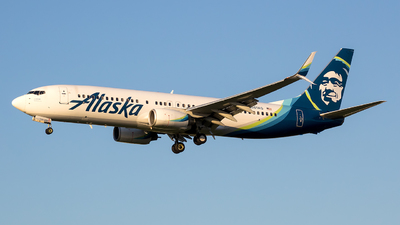 A picture of N581AS - Boeing 737890 - Alaska Airlines - © Stephen J Stein