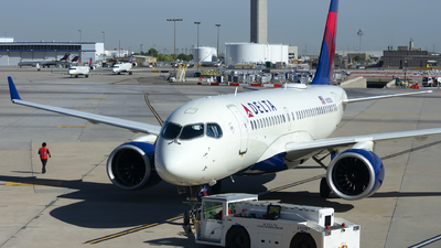 A picture of N101DU - Airbus A220100 - Delta Air Lines - © Michael Rodeback
