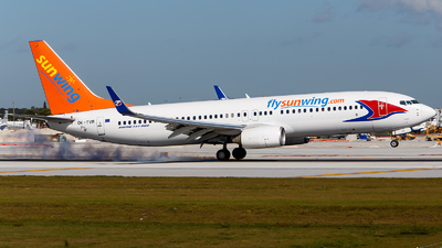 OK-TVR - Boeing 737-86N - Sunwing Airlines (Travel Service)