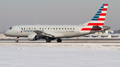 A picture of N124HQ - Embraer E175LR - American Airlines - © Jeremy D. Dando
