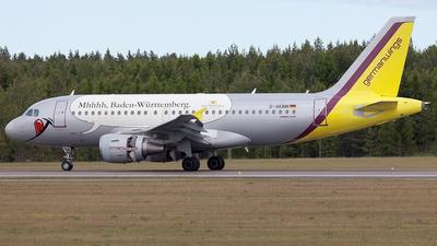 D-AKNM - Airbus A319-112 - Germanwings