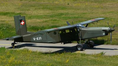 V-631 - Pilatus PC-6/B2-H2 Turbo Porter - Switzerland - Air Force