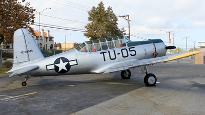N8527P - Vultee BT-13A Valiant - Private