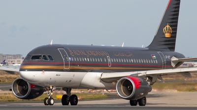 A picture of JYAYZ - Airbus A319111 - Royal Jordanian - © Julian S.