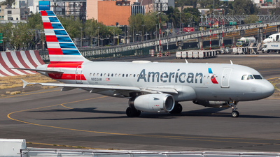 A picture of N802AW - Airbus A319132 - American Airlines - © Antonio Velasco Cruz