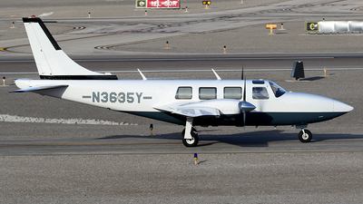 A picture of N3635Y - Piper PA60 Aerostar - [61P07818063394] - © Joshua Ruppert