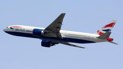 G-VIIM - Boeing 777-236(ER) - British Airways