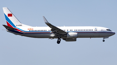 B-4080 - Boeing 737-85N - China - Air Force