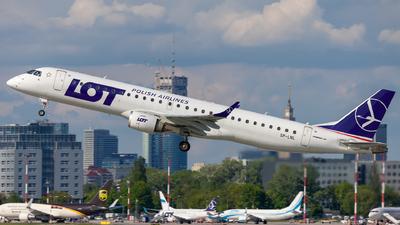 A picture of SPLNL - Embraer E195LR - LOT - © Pawel Guraj