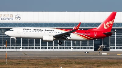 A picture of B1330 - Boeing 73787L - Kunming Airlines - © Lazy Clutch