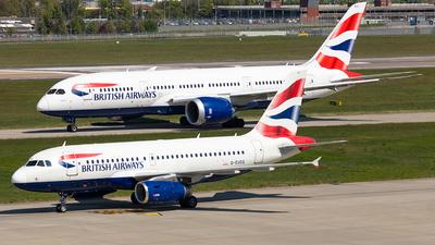 G-EUOG - Airbus A319-131 - British Airways