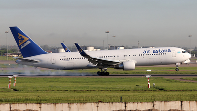 A picture of P4KEB - Boeing 7673KY(ER) - Air Astana - © Georgiy Bovtik