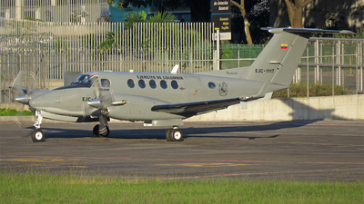 EJC1117 - Beechcraft 200 Super King Air - Colombia - Army