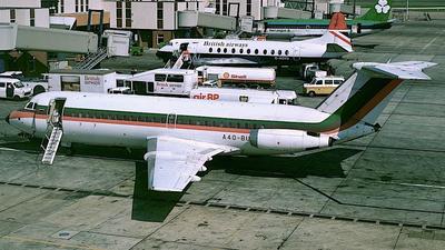 A4O-BU - British Aircraft Corporation BAC 1-11 Series 432FD - Gulf Air