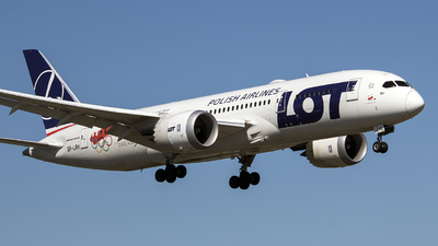SP-LRH - Boeing 787-8 Dreamliner - LOT Polish Airlines