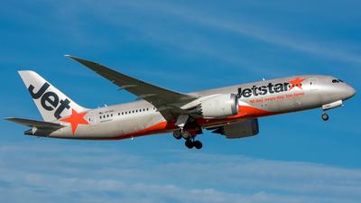 VH-VKB - Boeing 787-8 Dreamliner - Jetstar Airways