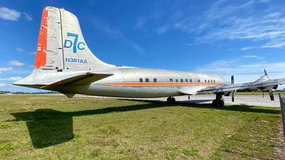 N381AA - Douglas DC-7B(F) - Private
