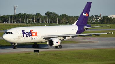 N657FE - Airbus A300F4-605R - FedEx
