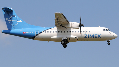 HB-ALN - ATR 42-500 - Zimex Aviation