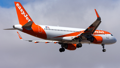 OE-ICG - Airbus A320-214 - easyJet Europe