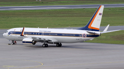L11Kh2-2/59 - Boeing 737-8Z6(BBJ2) - Thailand - Royal Thai Air Force