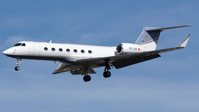 HB-JOE - Gulfstream G550 - G5 Executive