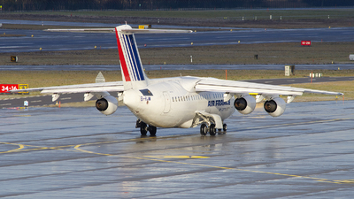 EI-RJW - British Aerospace Avro RJ85 - Air France (CityJet)