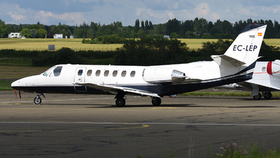 A picture of ECLEP - Cessna 560 Citation V - Gestair - © bruno muthelet